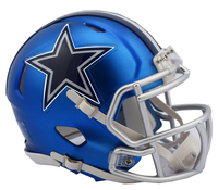 Dallas Cowboys NFL Blaze Revolution Speed Riddell Mini Football Helmet