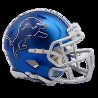 Detroit Lions NFL Blaze Revolution Speed Riddell Mini Football Helmet