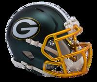 Green Bay Packers NFL Blaze Revolution Speed Riddell Mini Football Helmet