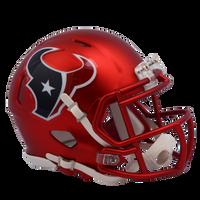 Houston Texans NFL Blaze Revolution Speed Riddell Mini Football Helmet