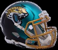 Jacksonville Jaguars NFL Blaze Revolution Speed Riddell Mini Football Helmet