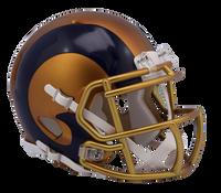 Los Angeles Rams NFL Blaze Revolution Speed Riddell Mini Football Helmet