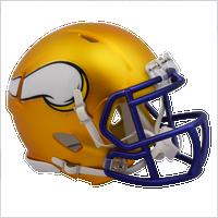 Minnesota Vikings NFL Blaze Revolution Speed Riddell Mini Football Helmet