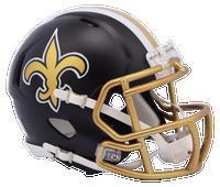 New Orleans Saints NFL Blaze Revolution Speed Riddell Mini Football Helmet