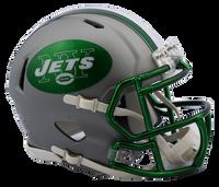 New York Jets NFL Blaze Revolution Speed Riddell Mini Football Helmet