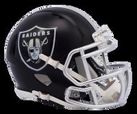 Oakland Raiders NFL Blaze Revolution Speed Riddell Mini Football Helmet