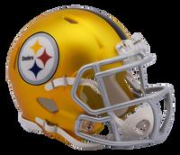 Pittsburgh Steelers NFL Blaze Revolution Speed Riddell Mini Football Helmet