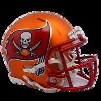 Tampa Bay Buccaneers NFL Blaze Revolution Speed Riddell Mini Football Helmet
