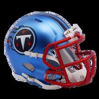 Tennessee Titans NFL Blaze Revolution Speed Riddell Mini Football Helmet