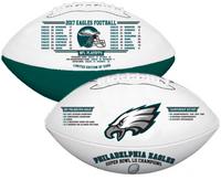 Philadelphia Eagles Super Bowl LII Champions Leather Football LE 5,000