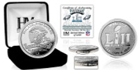 Philadelphia Eagles Super Bowl LII Champions 1 Troy Once Pure Silver Coin LE 5,000