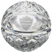 Villanova Wildcats 2018 NCAA National Basketball Champions Solid Mini Crystal Commemorative Basketball Numbered LE 5,000