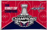 Washington Capitals 2018 NHL Stanley Cup Championship 3' x 5' Flag