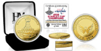 Washington Capitals 2018 NHL Stanley Cup Championship Gold Coin LE 5,000