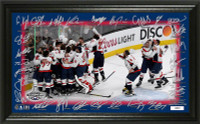 Washington Capitals 2018 NHL Stanley Cup Champions Celebration Signature Rink LE 5,000