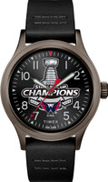 Washington Capitals 2018 NHL Stanley Cup Champions Leather Watch
