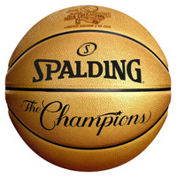 Golden State Warriors 2018 NBA Finals Champions Gold Laser Engraved Spalding Leather Basketball LE 2,018