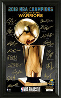 Golden State Warriors 2018 NBA Finals Champions Signature Trophy LE 5,000