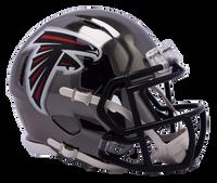 Atlanta Falcons NFL Chrome Speed Riddell Mini Football Helmet