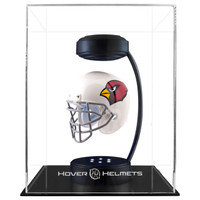 Arizona Cardinals NFL Speed Riddell Mini Hover Football Helmet and Stand