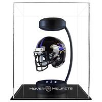 Baltimore Ravens NFL Speed Riddell Mini Hover Football Helmet and Stand