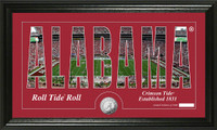 Alabama Silhouette Panoramic Minted Coin Photo Mint