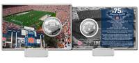Jordan Hare Stadium 75th Anniversary Silver Coin Card