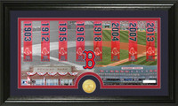 Boston Red Sox Traditions Bronze Coin Photo Mint