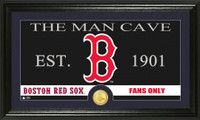 Boston Red Sox The Man Cave Bronze Coin Panoramic Photo Mint