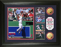 Mookie Betts 5-Tool Highlight Gold Coin Photo Mint