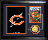 Chicago Bears Framed Memories Desktop Photo Mint