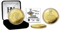 2013 Stanley Cup Champs Gold Coin