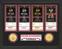 *Chicago Blackhawks 2015 Stanley Cup Champions Ticket Collection
