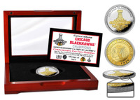 *Chicago Blackhawks 2015 Stanley Cup Champions Two-Tone Mint Coin