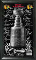 *Chicago Blackhawks 2015 Stanley Cup Champions Trophy Signature Photo