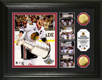 *Chicago Blackhawks Stanley Cup Triumph Highlight Gold Coin Photo Mint