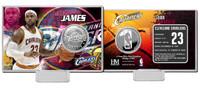 LeBron James Silver Coin Card