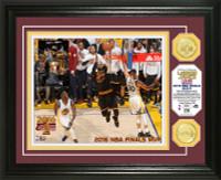 Cleveland Cavaliers 2016 NBA Champions MVP LeBron James Gold Coin Photo Mint LE