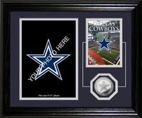 Dallas Cowboys Framed Memories Desktop Photo Mint