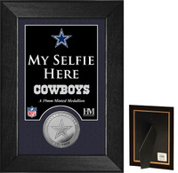 Dallas Cowboys Selfie Minted Coin Mini Mint