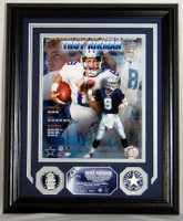 Troy Aikman Hall Of Fame Induction Photomint