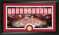 Detroit Redwings Tradition Minted Coin Pano Photo Mint