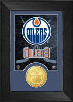 Edmonton Oilers Bronze Coin Mini Mint