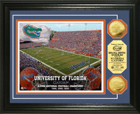 University of Florida Stadium Gold Coin Photo Mint