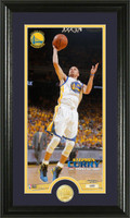 Stephan Curry Bronze Coin Panoramic Photo Mint