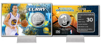 Stephan Curry Silver Coin Card