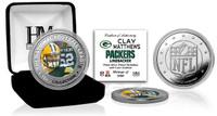 Clay Matthews Silver Color Coin