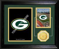Green Bay Packers Framed Memories Desktop Photo Mint