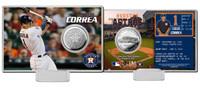 Carlos Correa Silver Coin Card