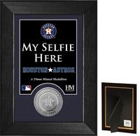 Houston Astros Selfie Minted Coin Mini Mint